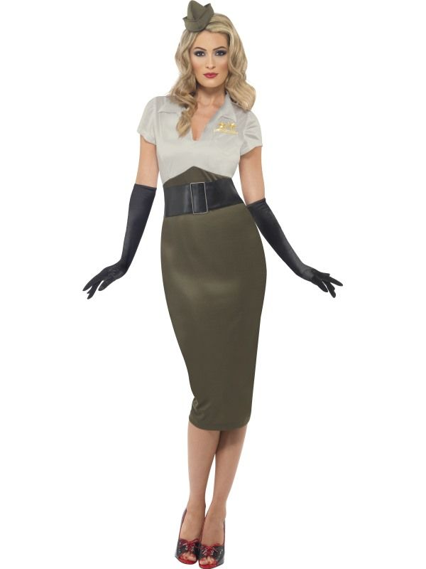 470aaa3bba57 Costume Donna Militare Pin Up 38816 - ShoeChic Boutique