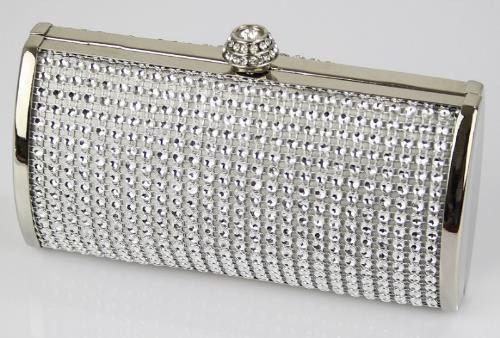 e2ab4a6d1eee50 Pochette Rettangulare Con Diamantini In 10 Colori 0081 - ShoeChic Boutique